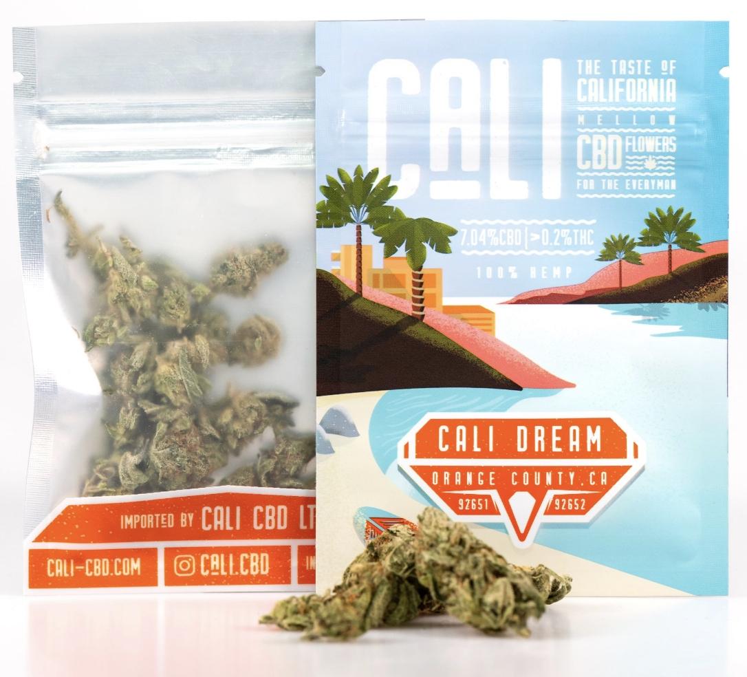 Cali Dream CBD 1G Hemp Bud Legal Weed