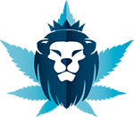 Rasta lion 7g (1/4 oz) uv stash tin