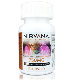 nirvana recovery soft gels