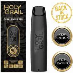 Holy Grail 89% Wide Spectrum Cannabis Pen *colossal strength*